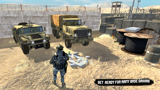 US Army Truck Pro:Army Transport screenshots 2