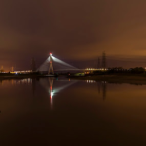 Flintshire Bridge by Katarzyna Najderek - Buildings & Architecture Bridges & Suspended Structures ( #bridge #flintshire #architecture )