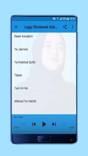 Sholawat Deen Assalam Nissa Sabyan + Lirik 1.0 screenshots 4