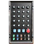48Way Soca Input Dimmer Rack rear