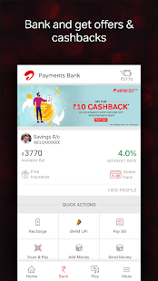 App Airtel Thanks - Recharge, Bill Pay, Bank, Live TV APK for Windows Phone