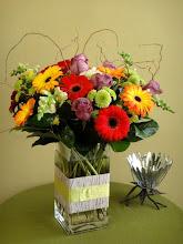 Photo: Gerbers Roses Snapdragons $50.00.