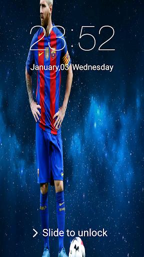 New Lock screen for Leo Messi 2018 2.0.0 screenshots 3