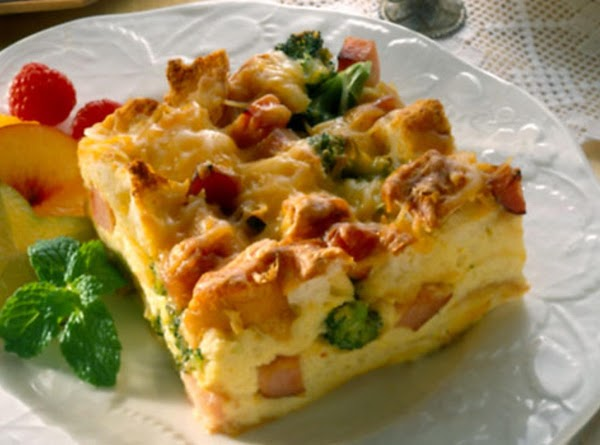 Ham And Cheese Omelet Bake Recipe