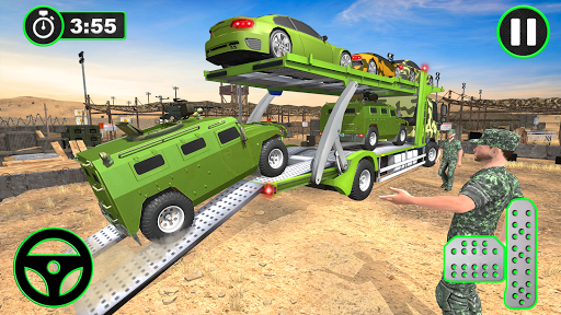 Army Vehicles Transport Simulator:Ship Simulator screenshot 18
