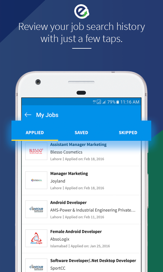 Rozee Job Search- screenshot