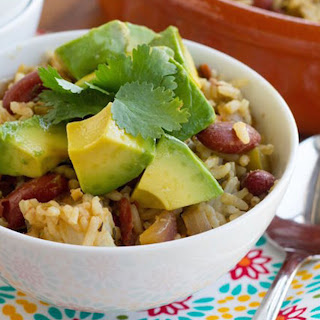 Red Beans and Rice with California Avocado