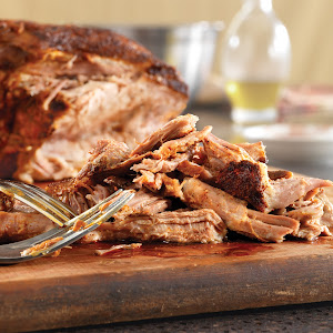 Chili Rub Grilled Pulled Pork