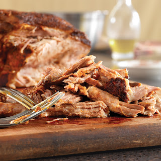 Chili Rub Grilled Pulled Pork.