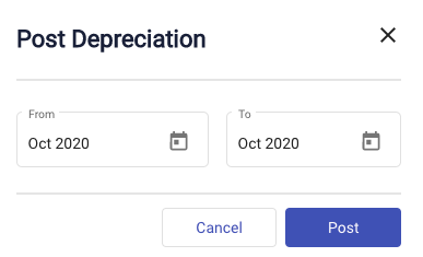 Automated Journal Entries for Depreciation in Deskera