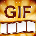 Photos to GIF Maker HD Quality icon