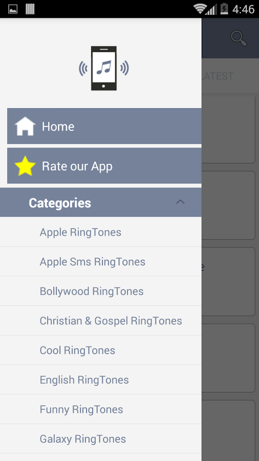 Mobiles Ringtones- screenshot