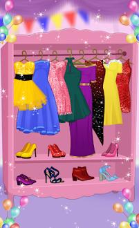 Princesa prom de vestir Gratis