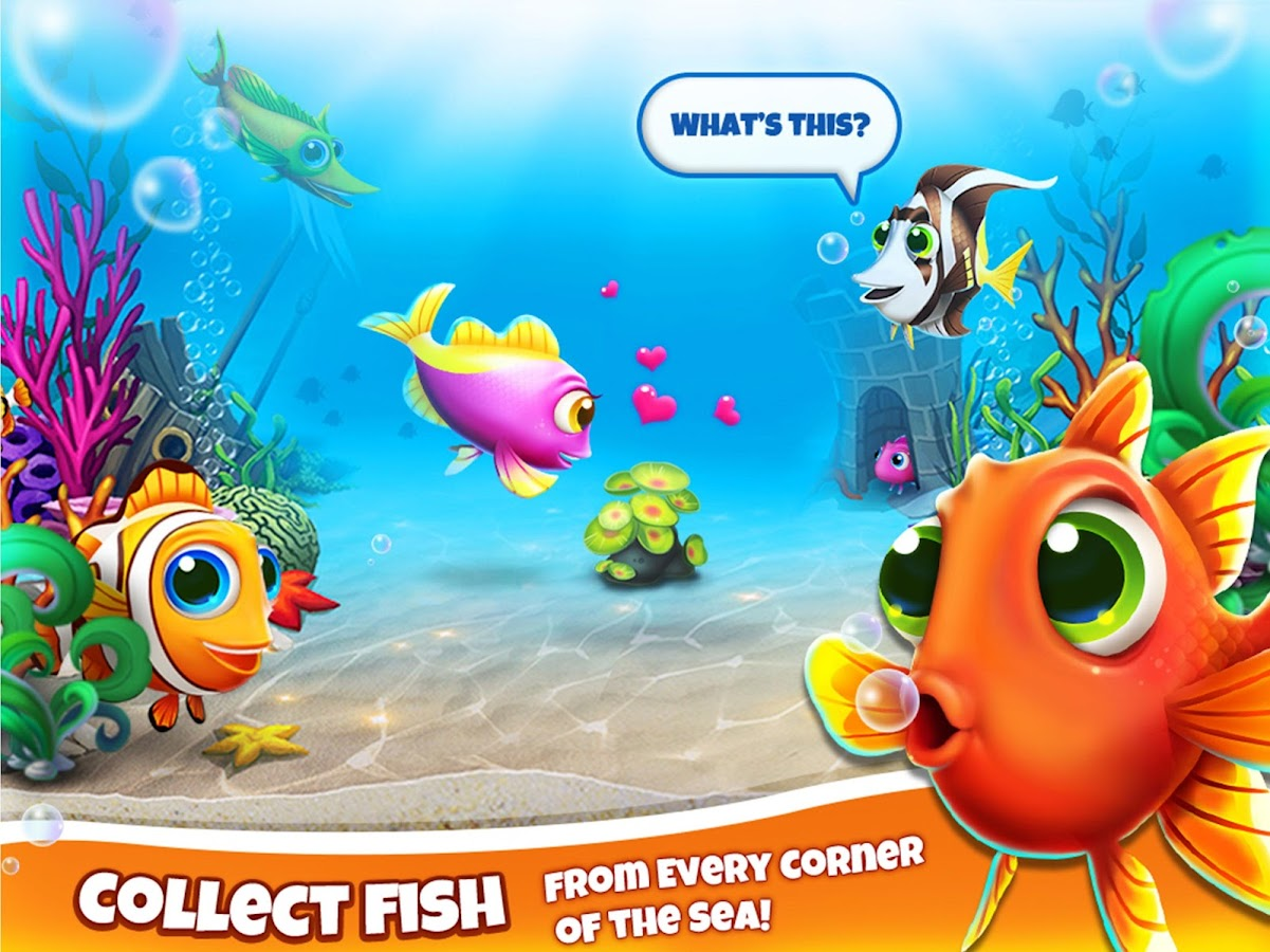 Fish world android apps on google play for How do you play go fish card game