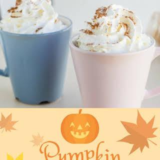 Creamy Pumpkin Coffee.