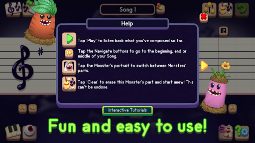 My Singing Monsters Composer - screenshot