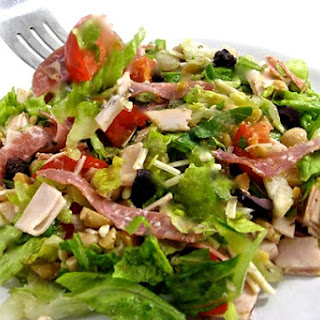 La Scala's Famous Chopped Salad Made Skinny.