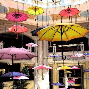 Happy Umbrellas! by Debbie Duggar - Artistic Objects Other Objects ( las vegas, umbrellas, spring, spring; umbrellas,  )