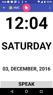 High Visibility Clock - náhled