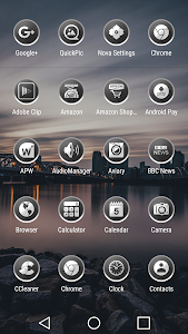 Enyo Gray - Icon Pack screenshot 1