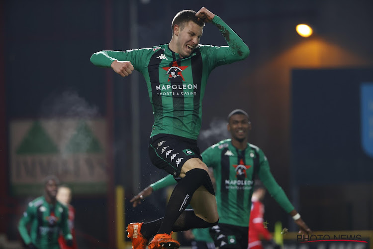 """Pavlovic debuteert meteen met doelpunt en zege bij Cercle Brugge: """"Wist pas op de teammeeting dat ik zou starten"""""""