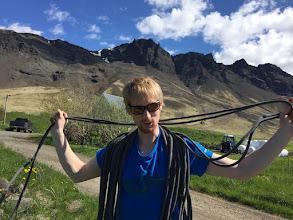 Photo: Þetta er hann Robbi. Honum finnst gaman að klifra
