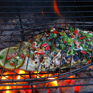 Caribbean Herb Grilled Fish.