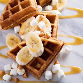Peanut Butter Waffles.