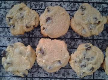 Banana Chocolate Chip Cookies aka pudding cookies