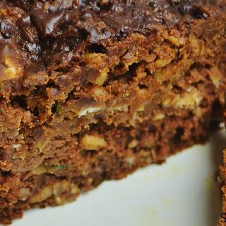 Chocolate Peanut Butter Zucchini Oat Protein Bread (Gluten Free)