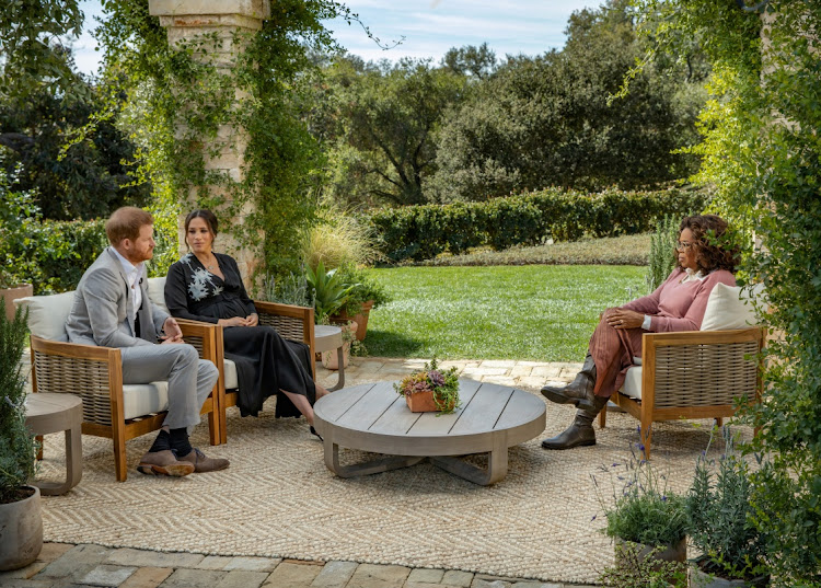 Prince Harry and Meghan, Duchess of Sussex, are interviewed by Oprah Winfrey. The writer says the global viewership numbers of this interview suggests TV may be reaching its popularity run as people seem to have deserted as they have with newspapers.