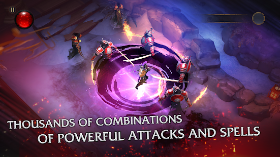 Bladebound: hack and slash RPG- screenshot thumbnail