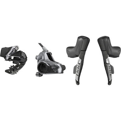 SRAM Red eTap AXS 1x Flat Mount HRD Electronic Groupset Thumb