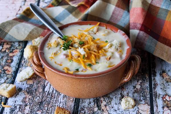 Potato Soup With Ham Recipe