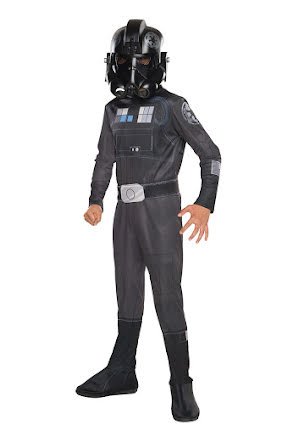 Star Wars fighterpilot, barn
