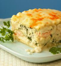 Photo: lasagna ai gamberi