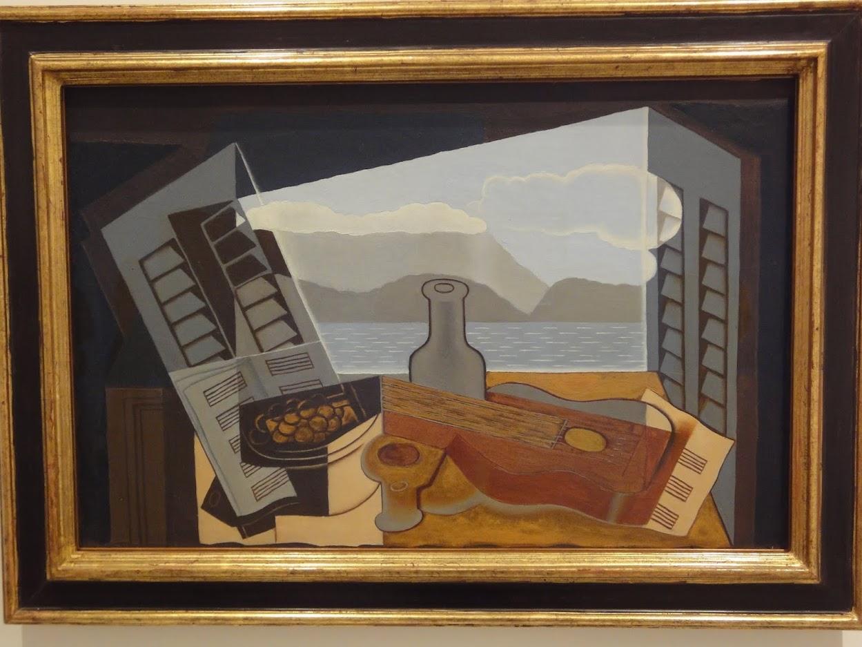 Fenêtre ouverte par Juan Gris au Musée national centre d'art Reina Sofía à Madrid