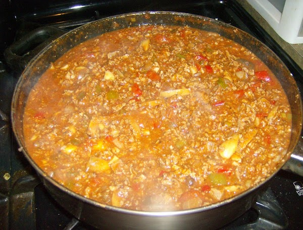 Meat Sauce for Southern Style Moussaka