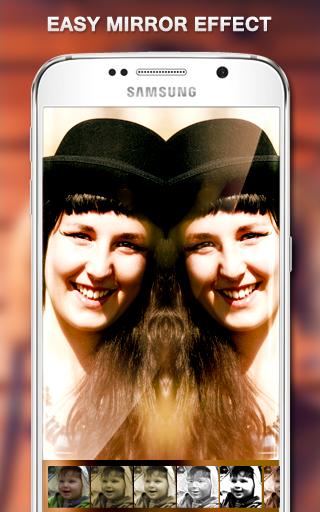 鏡像照片拼貼