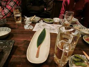 Photo: こっちのテーブル 減り方が異常