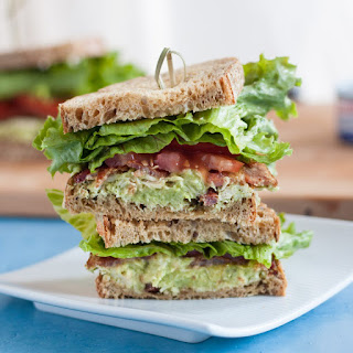 Avocado Tuna BLTs