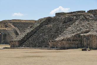 Photo: Ruins at Monte Alban