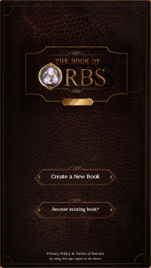 Book of Orbs- screenshot