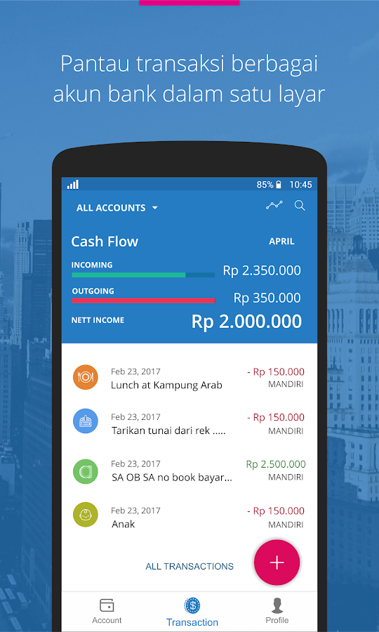 Mobile Banking - Veryfund- screenshot