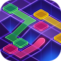 Flow Dots : Cyber lines game icon