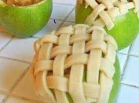 Apple Pie Baked In Apple Recipe