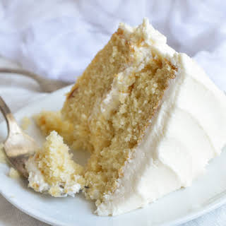 Vanilla Cake From Scratch Without Milk Recipes.