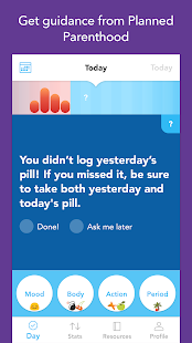 Spot On Birth Control Tracker- screenshot thumbnail