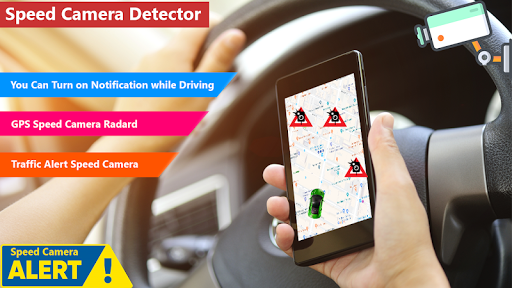 GPS Speed Camera Radar Detector- Voice Speed Alert screenshot 2