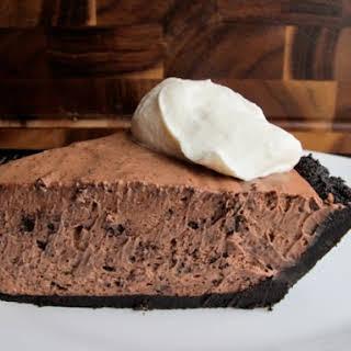 No-Bake Chocolate Kahlua Pie.